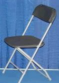 Where to find CHAIR BLACK FOLDING in Jackson