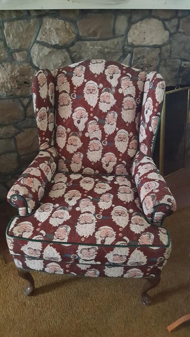 Where to find CHAIR SANTA in Jackson