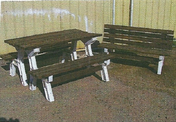 Where to find PICNIC TABLE  2 BENCHES in Jackson