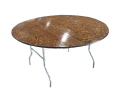 Where to rent 5  ROUND RESIN TABLE in Jackson MI