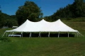 Where to rent TENT 30  X 60  POLE, WHITE in Jackson MI