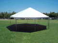 Where to rent TENT 25  OCTAGON FRAME WHITE in Jackson MI