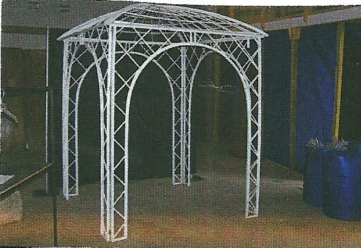 Where to find GAZEBO 8  X 8  PLASTIC in Jackson