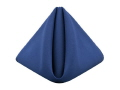 Where to rent ROYAL BLUE POLYESTER NAPKIN in Jackson MI