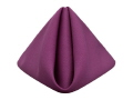 Where to rent PLUM POLYESTER NAPKIN in Jackson MI