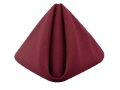 Where to rent BURGUNDY COTTON NAPKIN in Jackson MI
