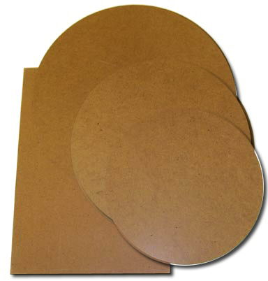 Where to find MASONITE BOARD ROUND  6 in Jackson