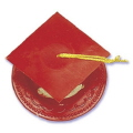 Where to rent GRADUATION CAP RED in Jackson MI