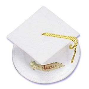 Where to find GRADUATION CAP WHITE in Jackson