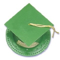 Where to rent GRADUATION CAP GREEN in Jackson MI