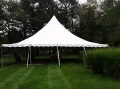 Where to rent TENT 40  X 40  PEAK TENT in Jackson MI