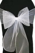 Where to rent CHAIR COVER SASH WHITE ORGANZA in Jackson MI