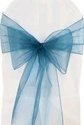Where to rent CHAIR COVER SASH TURQUOISE ORGANZA in Jackson MI