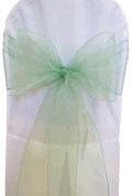 Where to rent CHAIR COVER SASH SAGE GREEN ORGANZA in Jackson MI