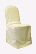 Where to rent CHAIR COVER IVORY in Jackson MI
