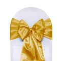 Where to rent CHAIR COVER SASH GOLD SATIN in Jackson MI
