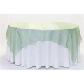 Where to rent 60  SQUARE SAGE GREEN ORGANZA OVERLAY in Jackson MI