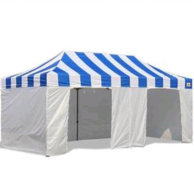Where to find TENT 10 X 20 TOP BLUE WHITE in Jackson