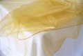 Where to rent 52  Gold Organza Overlay in Jackson MI