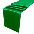 Where to rent Green Satin Table Runner in Jackson MI