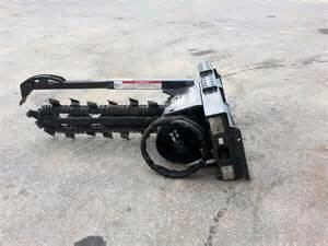 Trencher 4 Foot 4 Inch X 5 Inch Bobcat Rentals Jackson Mi