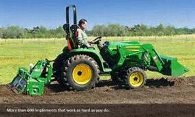 Tractor Deere W Bucket Rentals Jackson Mi Where To Rent